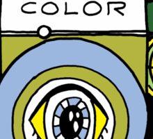 Colorful Camera  Sticker