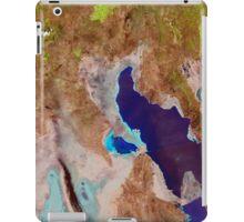 Great Salt Lake Utah Satellite Image iPad Case/Skin