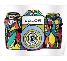 Colorful Camera  Poster