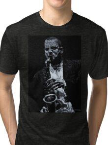 Sensational Sax Tri-blend T-Shirt