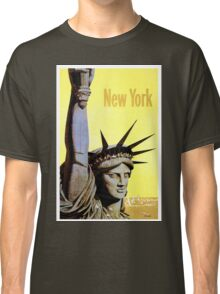 New York - Vintage Travel Poster Classic T-Shirt