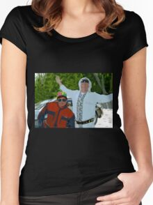 Doc and Marty Women's Fitted Scoop T-Shirt