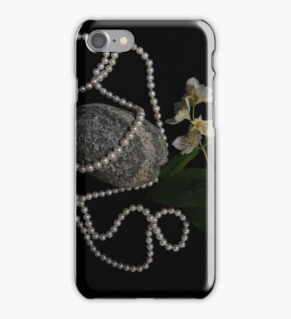 Jasmine and Pearls iPhone Case/Skin