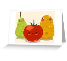 Funny Fruits Fun Pack 2 Greeting Card