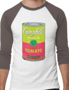 Campbell's Soup Can - Andy Warhol Print Men's Baseball ¾ T-Shirt