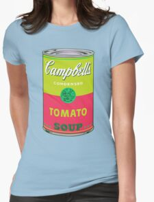 Campbell's Soup Can - Andy Warhol Print Womens Fitted T-Shirt