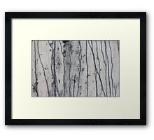 stone works Framed Print