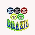 brazillian smiling sloth's by gruntpig