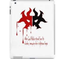 Cult of Rakdos sigil  iPad Case/Skin