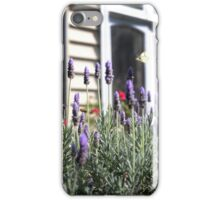lavender & butterly iPhone Case/Skin