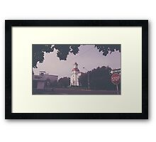 Old Downtown Corvallis Framed Print