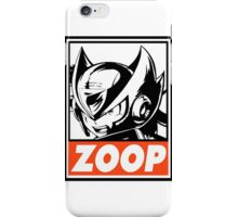 Zero Zoop Obey Design iPhone Case/Skin