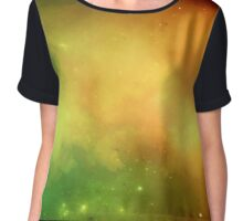 Ghost Nebula Chiffon Top
