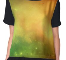 Ghost Nebula Chiffon Top