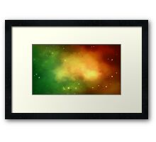 Ghost Nebula Framed Print