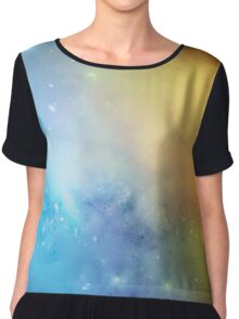 Ghost Nebula 02 Chiffon Top