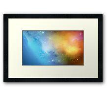 Ghost Nebula 02 Framed Print