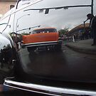 Reflecting on a 57 Chevy by dwcdaid