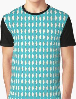 Retro Ziggy Diamonds Blue Curacao Graphic T-Shirt