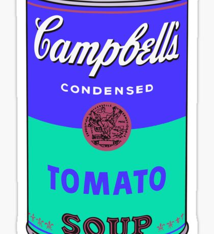 Campbell's Soup Can - Andy Warhol Print Sticker