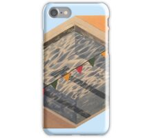 poolside cutouts iPhone Case/Skin