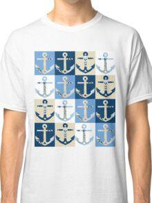 Anchors Ahoy Classic T-Shirt