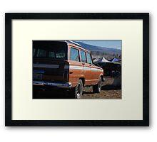 vintage vehicle Framed Print
