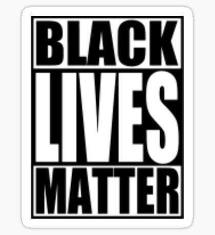 #BLACKLIVESMATTER Sticker