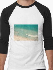 beach love II - Nazare Men's Baseball ¾ T-Shirt