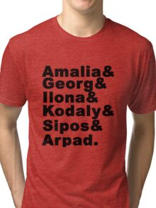 'She Loves Me' Characters Tri-blend T-Shirt