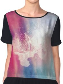 Art In Imperfection Chiffon Top