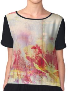 Art In Imperfection 02 Chiffon Top