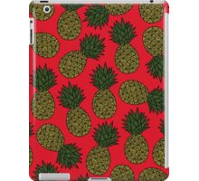 Pineapple - Red iPad Case/Skin