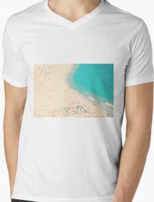 beach love III - Nazare Mens V-Neck T-Shirt