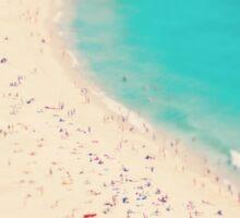 beach love III - Nazare Sticker