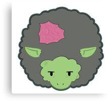 Undead Sheep Canvas Print