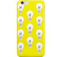 Pattern Funny Bulb- Hipster  iPhone Case/Skin