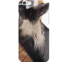 silly goat iPhone Case/Skin