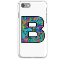 Letter B Doodle iPhone Case/Skin