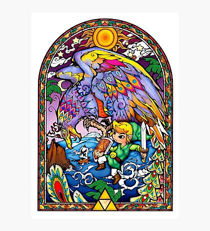 Vitral The Wind Waker Photographic Print