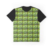 Eastern Grey Tree Frog on a Rose-of-Sharon Leaf Graphic T-Shirt