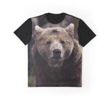 Brown Bear Graphic T-Shirt