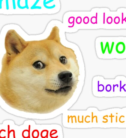 Doge Sticker