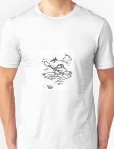 Ape Kayaks among the Ice Floes Unisex T-Shirt