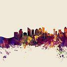 Calgary Canada Skyline by Michael Tompsett