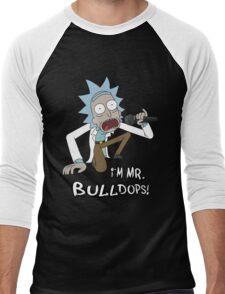 Rick and Morty – I'm Mr. Bulldops Men's Baseball ¾ T-Shirt