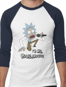 Rick and Morty – I'm Mr. Bulldops Men's Baseball ¾ T-Shirt