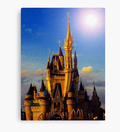 Castle of beauty Canvas Print