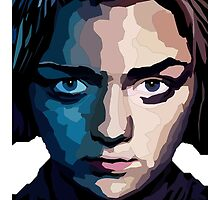 Game of Thrones - Arya Stark WPAP by Sthomas88