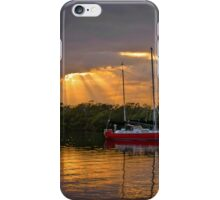 Early morning Port Stephens iPhone Case/Skin